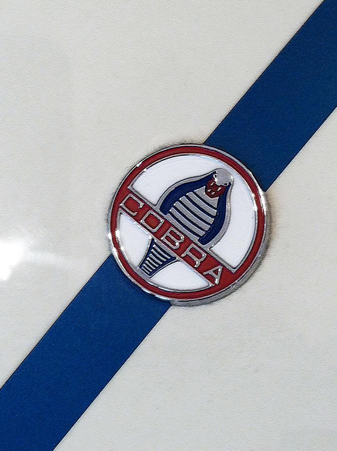 Shelby Cobra Emblem Shelby cobra hood emblem circa