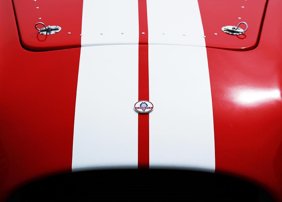 Car Photograph - Shelby Cobra by Shelby Waltz
