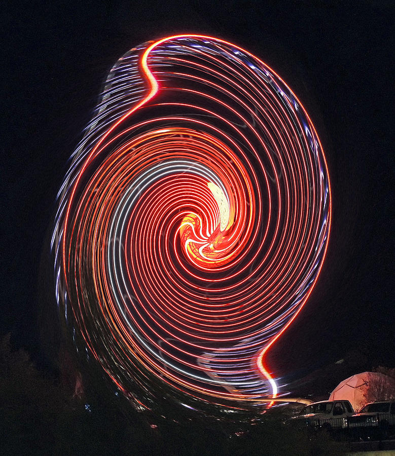 Shell Swirl Photograph