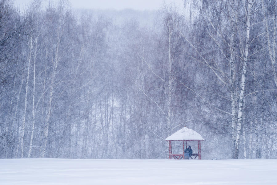 Alcove Photograph - Shelter In The Storm - Featured 3 by Alexander Senin