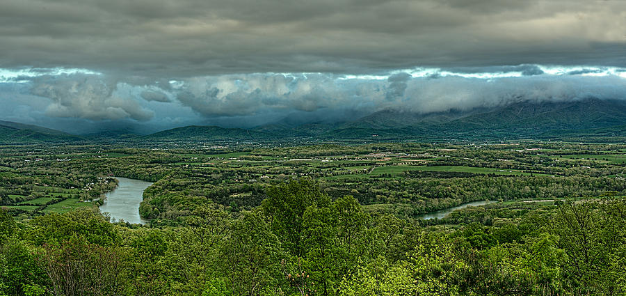 Shenandoah Green Valley Photograph  - Shenandoah Green Valley Fine Art Print