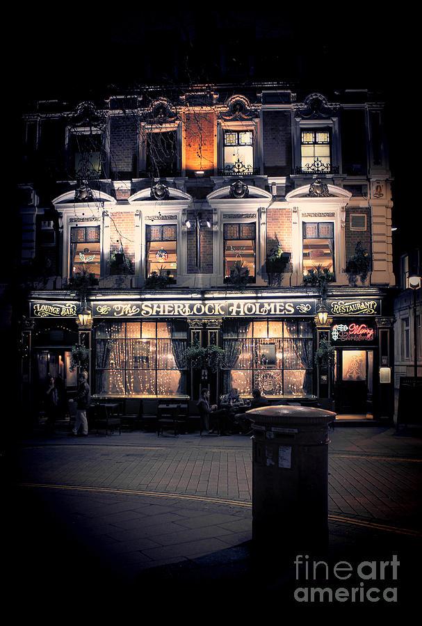 Sherlock Holmes Pub Photograph