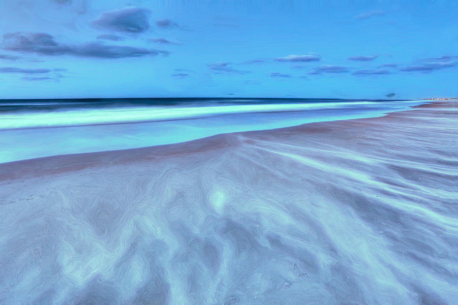 Shifting Sands On Frisco Beach Outer Banks II Photograph  - Shifting Sands On Frisco Beach Outer Banks II Fine Art Print