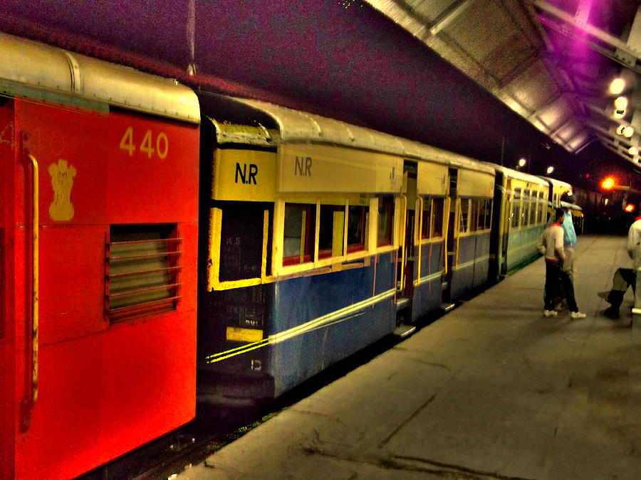 Shimla Toy Train Photograph