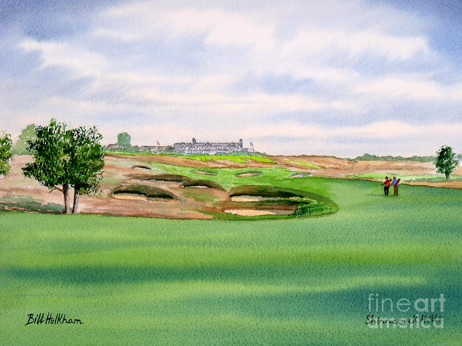 Shinnecock Hills Golf Course Painting