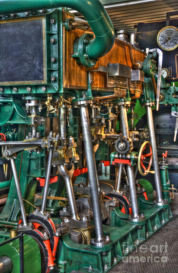 Ship Engine Photograph  - Ship Engine Fine Art Print
