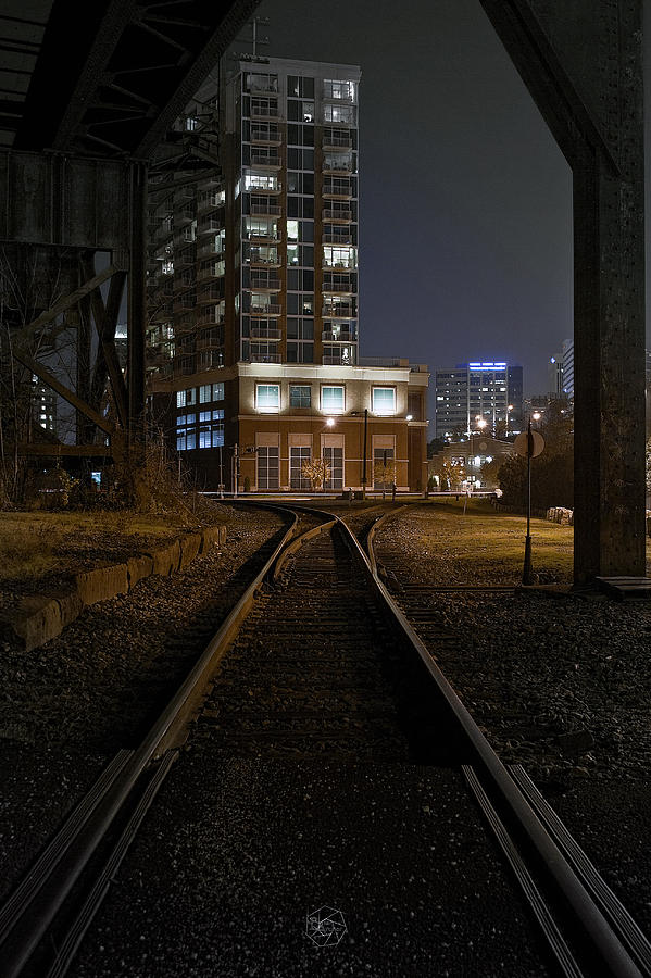 City Photograph - Shockoe Tracks by Brian Archer