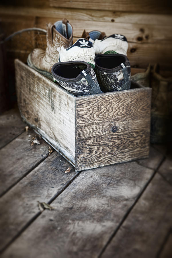 Shoebox Still Life Photograph  - Shoebox Still Life Fine Art Print