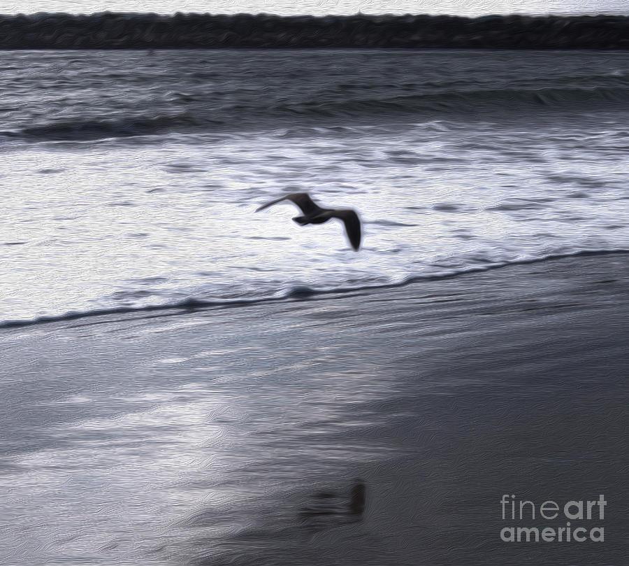 Shore Bird -02 Painting