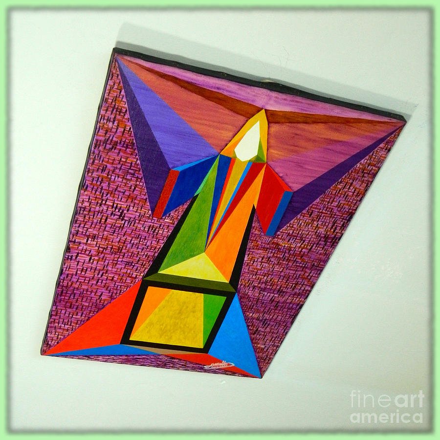 Shot Shift - Liberte 1 Painting  - Shot Shift - Liberte 1 Fine Art Print