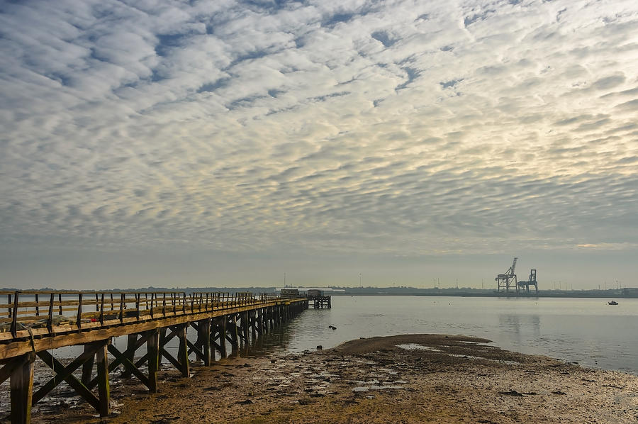 Shotley Bay Photograph  - Shotley Bay Fine Art Print