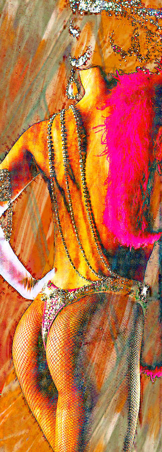 Showgirl Mixed Media  - Showgirl Fine Art Print