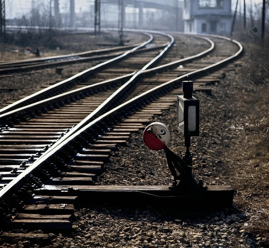 Train Photograph - Shunt by Juan Carlos Ferro Duque