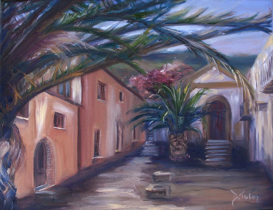 Sicily Painting - Sicilian Nunnery II by Donna Tuten