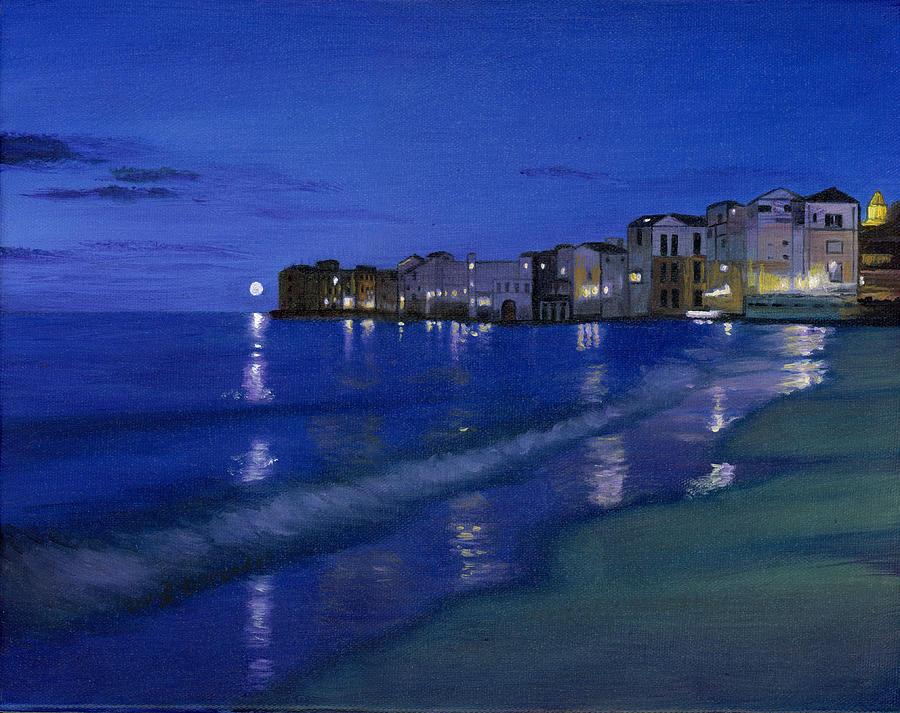 Sicilian Sunset Painting