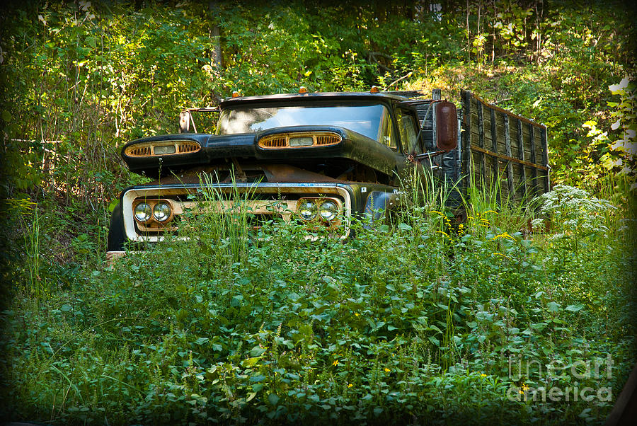 Sids Old Truck Photograph