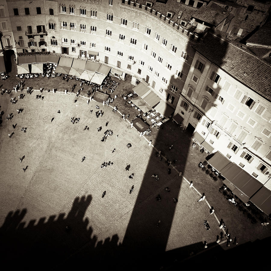 Siena From Above Photograph  - Siena From Above Fine Art Print