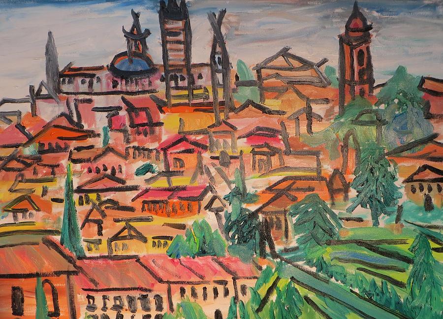 Italy Sienna Painting - Sienna by Ira Stark