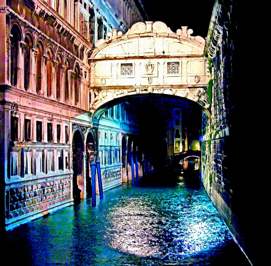 Sigh In Venice Digital Art