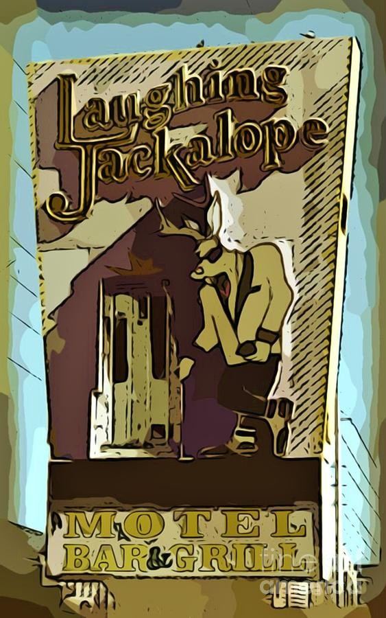 Las Vegas Photograph - Sign Of The Jackalope by John Malone