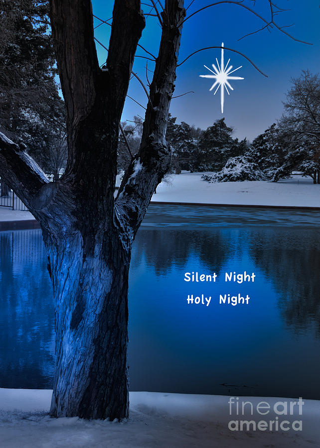 Silent Night Photograph  - Silent Night Fine Art Print