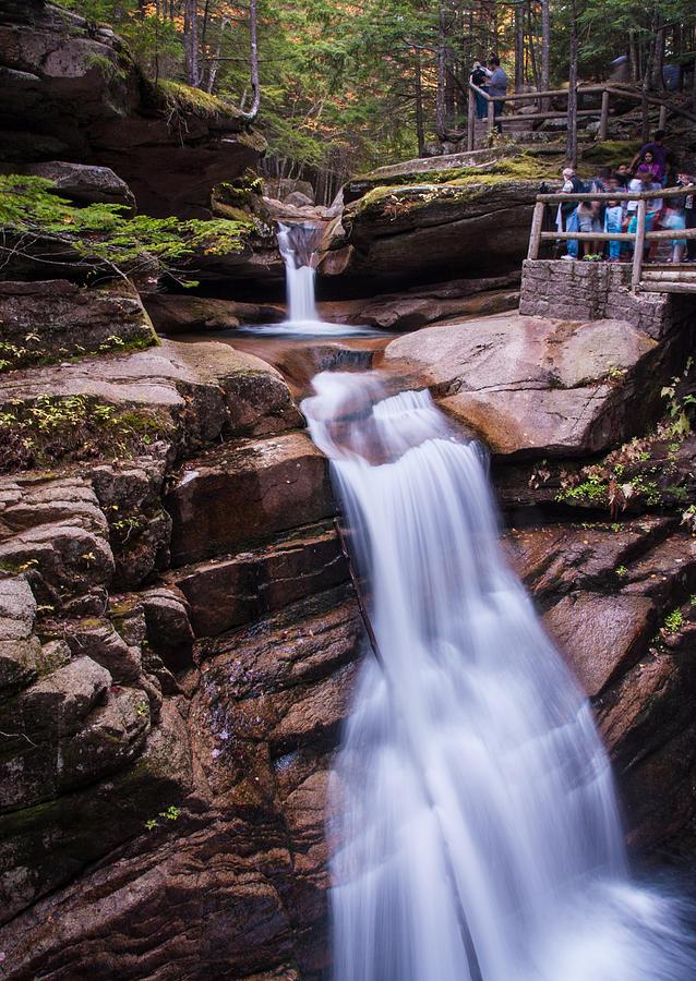 Silky Sabbaday Falls Photograph