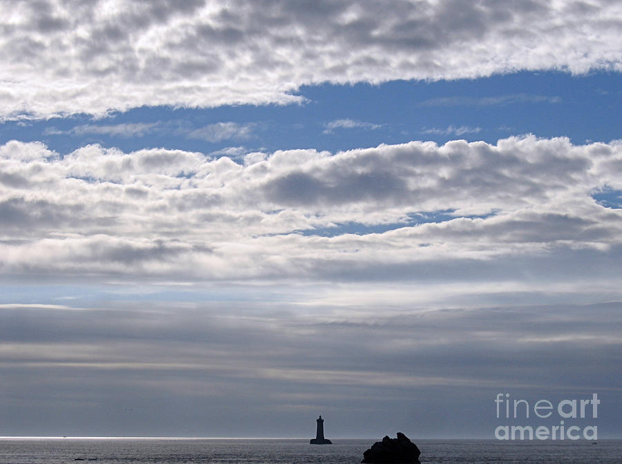 Silver On The Sea Photograph  - Silver On The Sea Fine Art Print