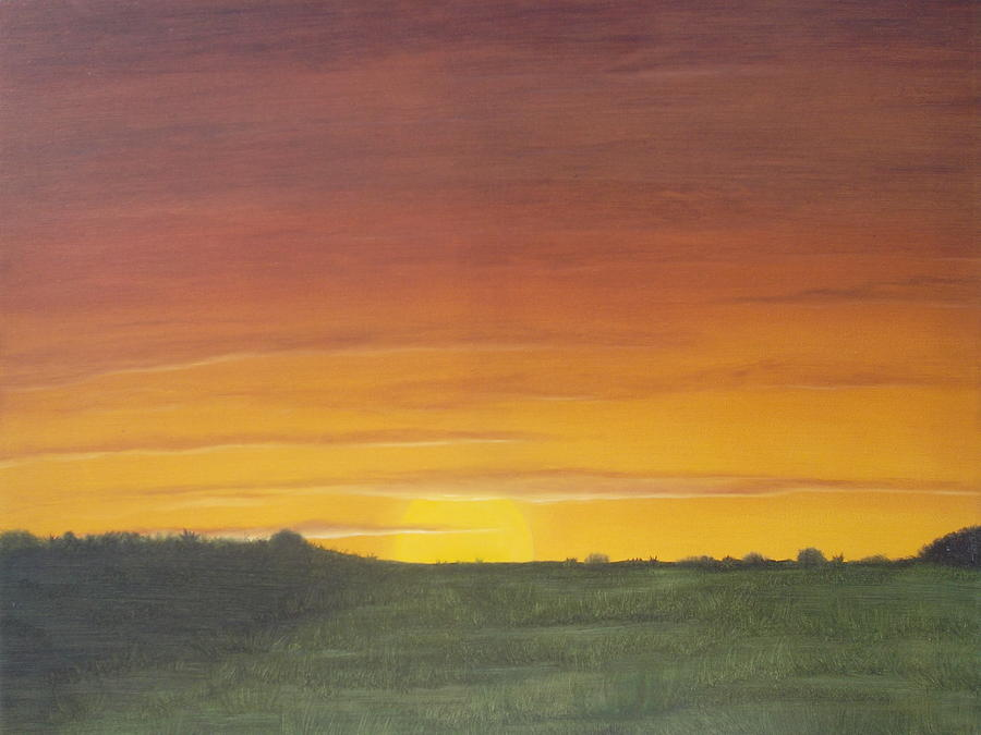 Simple Landscapes To Paint The Image