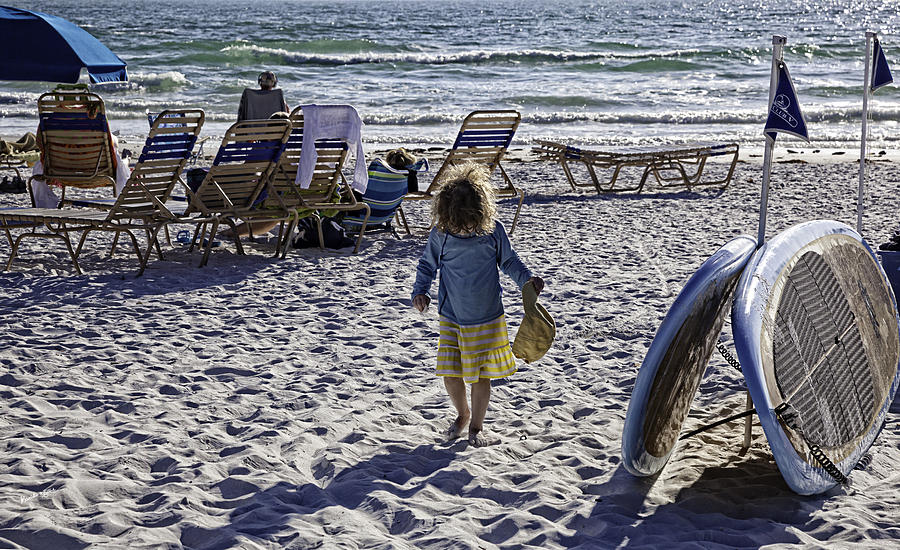 Simpler Times 2 - Miami Beach - Florida Photograph