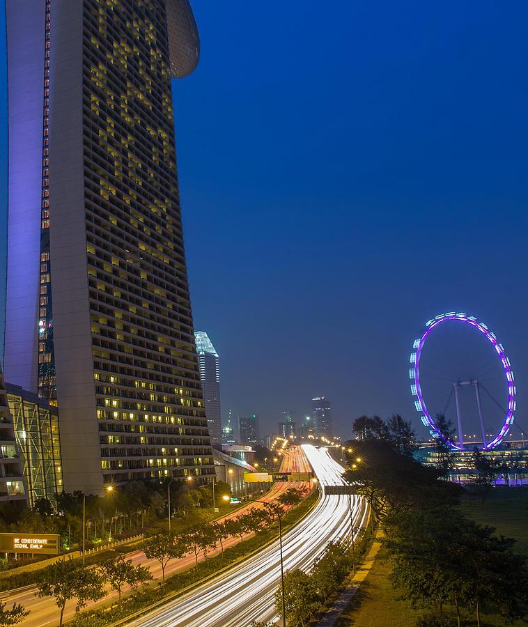 Singapore Evening Photograph
