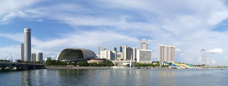 Singapore Waterfront Photograph