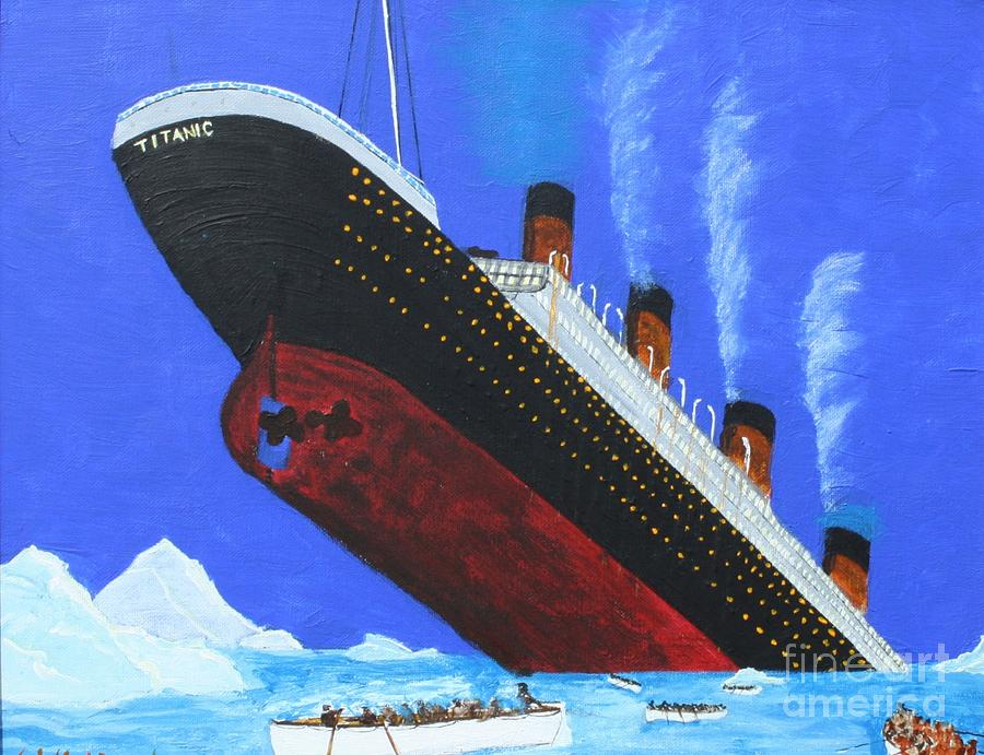 an analysis of the sinking of the titanic on its maiden voyage An australian billionaire said monday he'll build a high-tech replica of the titanic at a chinese shipyard and its maiden voyage in late 2016 will be from england to new york, just like its namesake planned weeks after the 100th anniversary of the sinking of the original titanic, clive palmer.