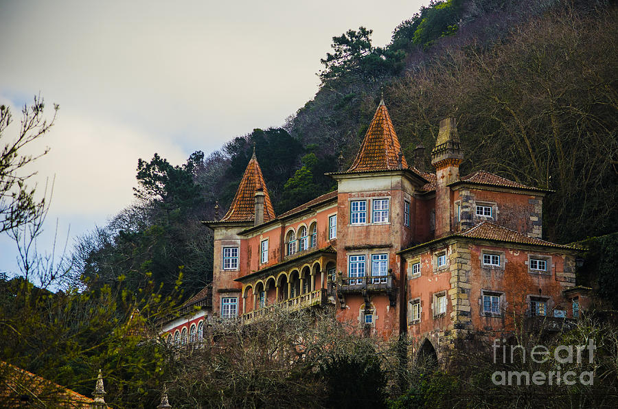 Sintra Photograph - Sintra Mansion by Deborah Smolinske
