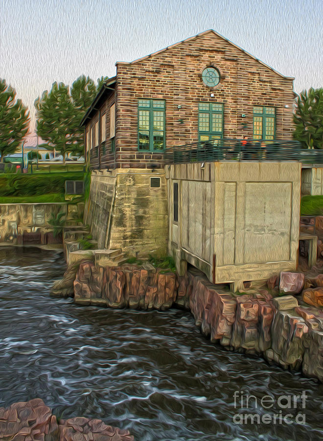 Sioux Falls Painting - Sioux Falls - 05 by Gregory Dyer