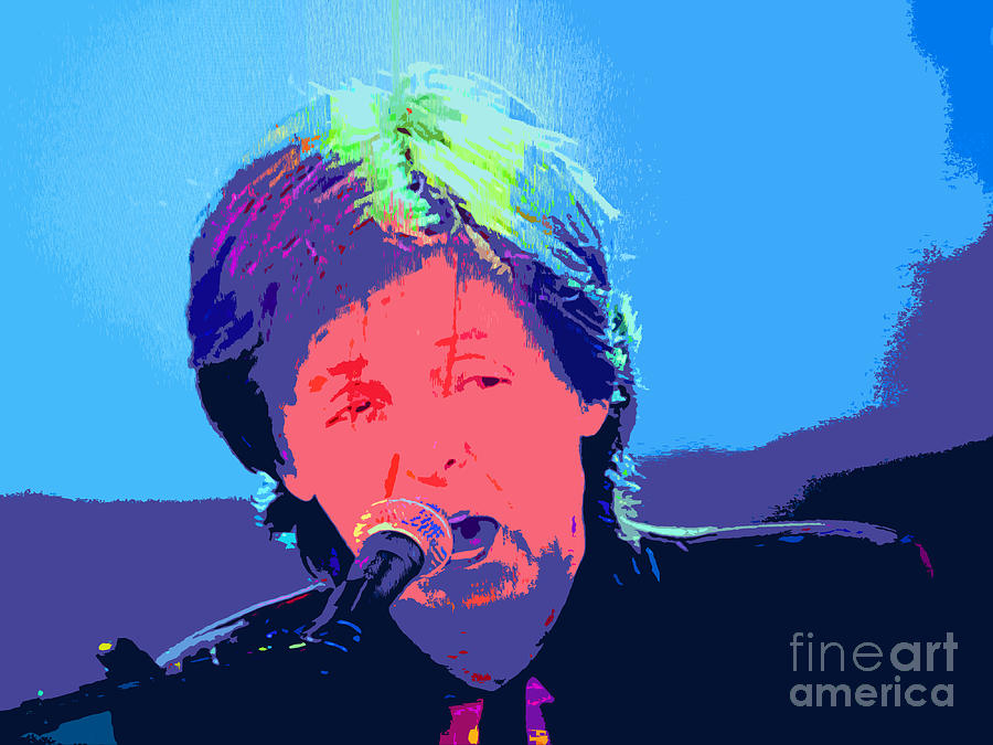 Sir Paul Pop Art Photograph  - Sir Paul Pop Art Fine Art Print