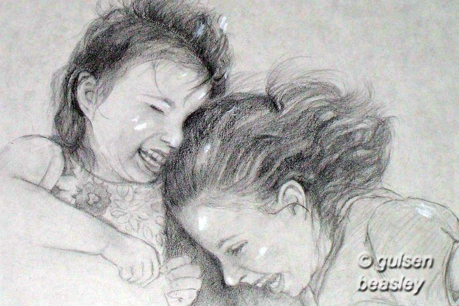 Sisters 2 Drawing