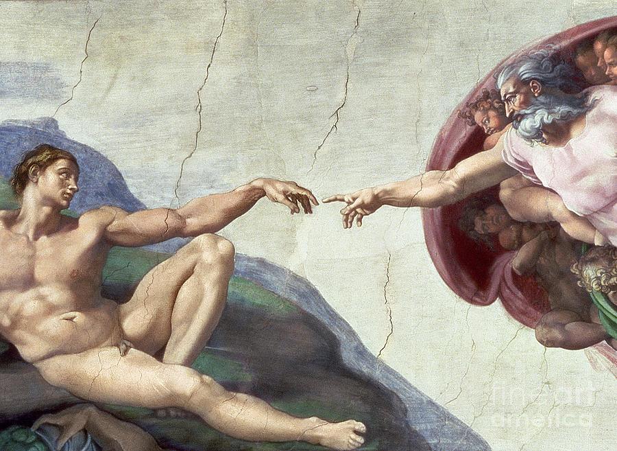 Sistine Chapel Ceiling Painting
