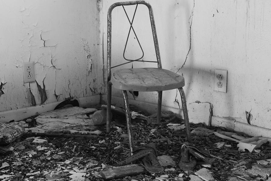 Sitting In A Corner Photograph