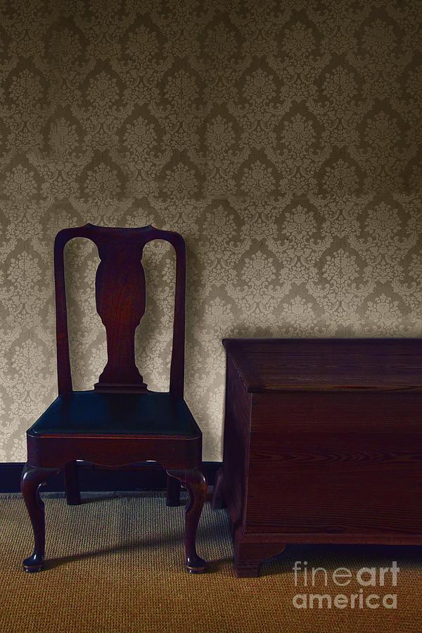 Sitting Room At Dusk Photograph