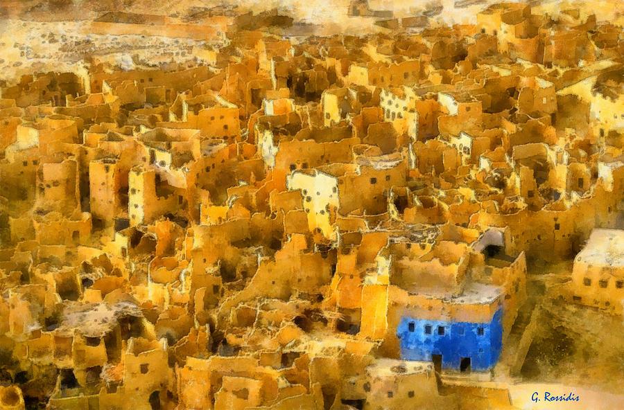 Siwa Oasis Painting