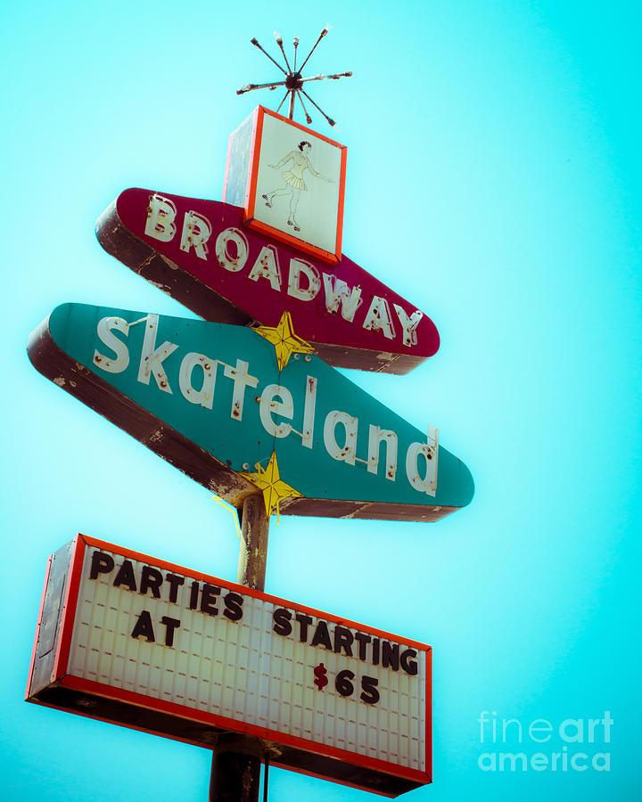 Skateland Photograph