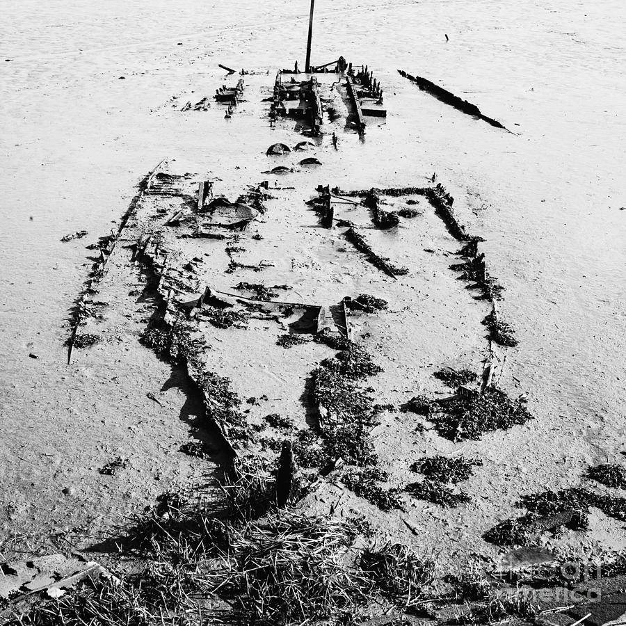 Skeleton Boat Photograph