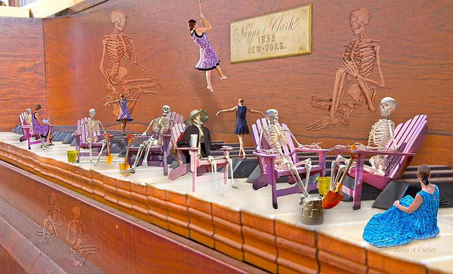 Skeleton Keys Digital Art