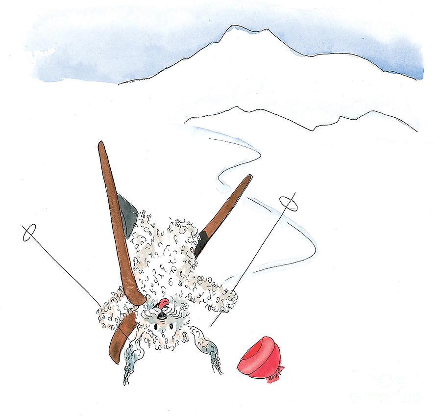 Ski Fail Painting