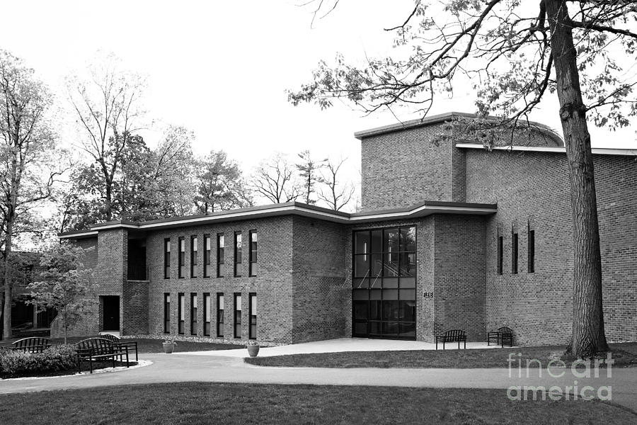 Skidmore College Filene Hall Photograph  - Skidmore College Filene Hall Fine Art Print