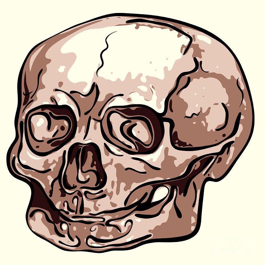 Skull Digital Art