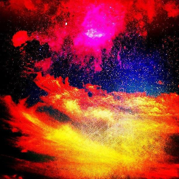 Space Photograph - Sky Fire by Benjamin Prater