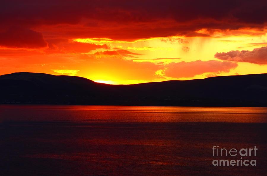 Ireland Photograph - Sky Of Fire by Aidan Moran