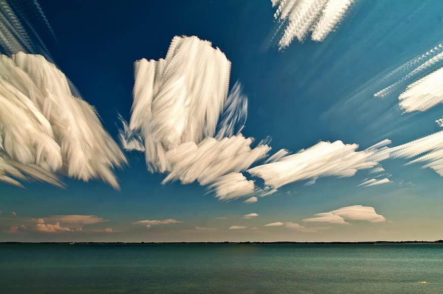 Sky Sculptures Photograph  - Sky Sculptures Fine Art Print