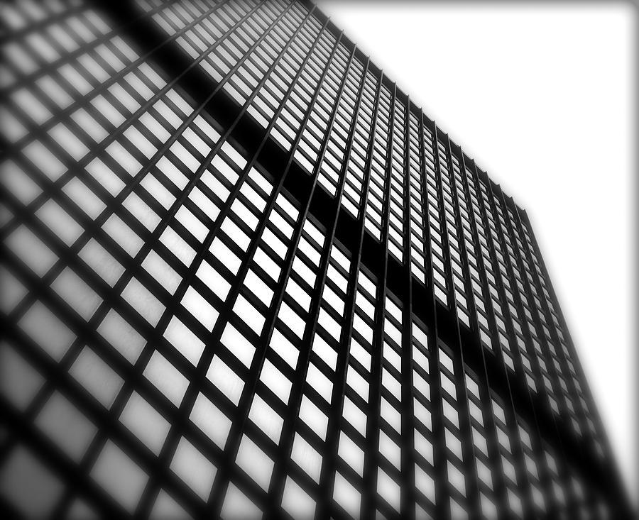 Skyscraper Photograph - Skyscraper Facade by Valentino Visentini